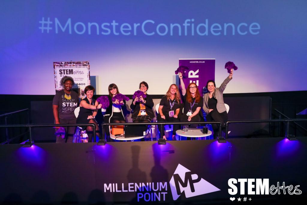 Monster Confidence Millennium Point Birmingham